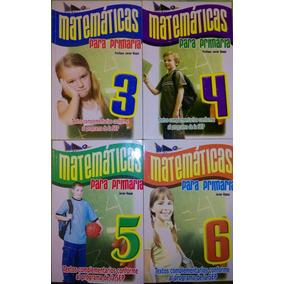 Matemáticas Para Primaria 4 Tomos