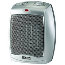 Lasko 754200 Calentador De Cerámica Con Termostato Ajustable