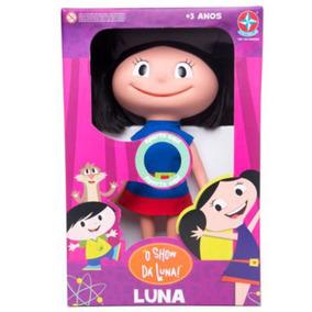 Boneca Da Luna Que Fala Original Brinquedos Estrela 48 Cm