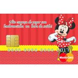 10 Cartão Vale Brinde Minie Vermelha