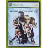 Dead Or Alive 4 Xbox 360