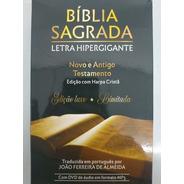 Bíblia Sagrada Letra Hipergigante - Edição Luxo Limitada