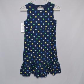 Gimboree Vestido Azul Con Puntos 10 Msrp $ 700