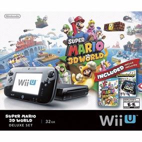 Nintendo Wii U Deluxe Super Mário 3d World 32gb Com Nf-e
