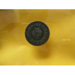 Moneda Antigua 5 Centavos 1915 Buen Estado!