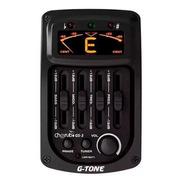 Microfono Eq Y Afinador Cherub Gs-3 Activo 4 Bandas
