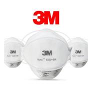 Máscara 3m Aura 9320+br Pff2 N95 Respirador S/ Válvula 10 Un