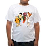 Camiseta Infantil Fred Flistons E Vilma