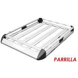 Parrilla De Aluminio Canastilla 140 Cm Rav4, Tucson, Xtrail,