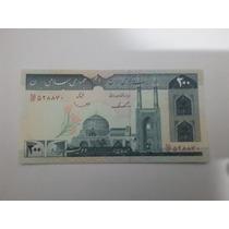 Cedula Do 1982 Persia Iran 200 Rials P136 - Fe