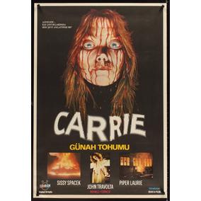 Fans De Terror Decoração Poster Grande Carrie Antigo Cartaz