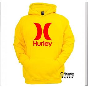 Moletom Hurley Mod 35 Masculino Blusa De Frio Canguru fb6317a06ec