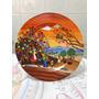 Prato Decorativo Em Porcelana Parede Ou Mesa - 19 Cm