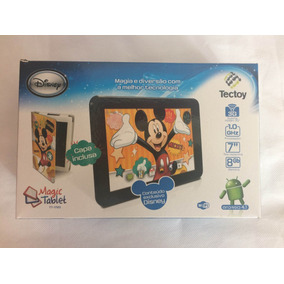Tablet Tectoy Semi Novo Mickey Mouse Tt1720 Completo