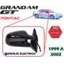 99-02 Pontiac Grand Am Gt Espejo Lateral Electrico Derecho