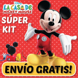 Kit Imprimible La Casa Mickey Mouse