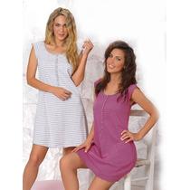 Camison Maternal De Jersey Lencatex 7271 Talles Especiales