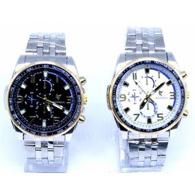 Relógio Masculino Original Potenzia Aço Inoxidável Barato