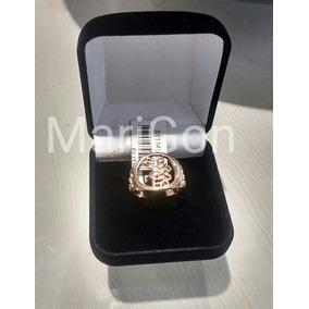 Anel Masculino São Jorge - Folheado Ouro Rommanel 511145