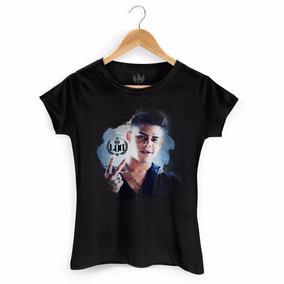 Camiseta Feminina Funk Mc Lon Mundo M Bandup!