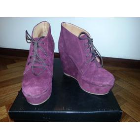 Botas / Abotinados / Zapatos Febo Bordo - Talle: 35