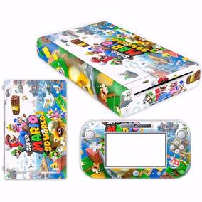 [novo] Console Skins Nintendo Wii U #1123 Super-mario-3d