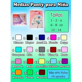 Medias Panty Para Bebés Y Niñas Marca Delux Y Marlenita