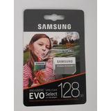 Memoria Micro Sd Samsung 128 Gb Clase 10 U3 100mb/s 4k