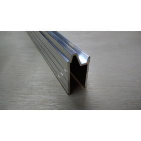 Perfil De Alumínio Hibrido 10mm Barra De 1mt