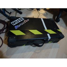 Pedalera Zoom G7.1ut Display Azul Con Case Rigido