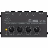 Behringer Ha400 Amplificador Distribuidor Para 4 Auriculares