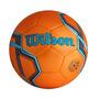 Balon Futbol Soccer Wilson Silver Naranjano. 5