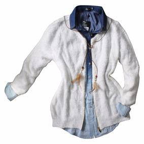 Blusa De Frio Feminina Lã Tricot Importada Cardigan Inverno