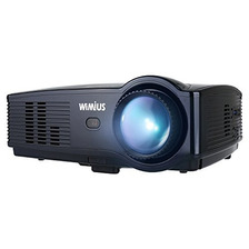 Projector, Wimius T4 3500 Lumens Video Projector Support 108