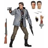 Neca Terminator Escala Final T800 Tech Noir Figura De