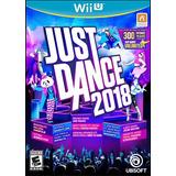 Just Dance 2018 En Wii U . Nuevo Y Sellado.