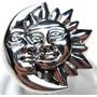 Mij-anel Lua Sol Prata 925