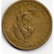 Moeda 1000 Réis Fortuna 1925 Bronze - Alumínio