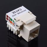 Conector Jack Port Network Ethernet Cat 5e De Impacto Rj45