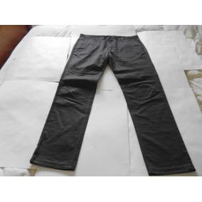Pantalon Hombre Zara Talle 42 Gris Oscuro Sport-nuevo