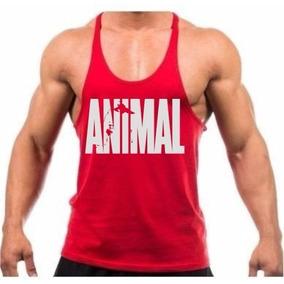 5a899144e6 Camiseta Regata Super Cavada Masculina Academia Musc Animal