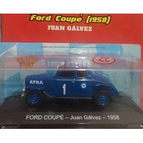 Auto Coleccion Tc Ford Coupe Juan Galvez 1958 Escala 1/43