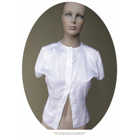 Camisa Manga Japonesa Camisita Mujer Blusa Feria Americana