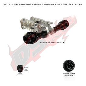 Kit Slider F1 Procton Racing Yamaha Xj6 N F - 3 Peças