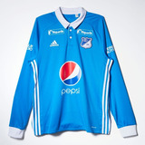 Camiseta De Millonarios De Colombia adidas Manga Larga
