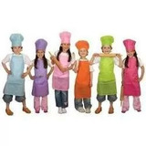Delantales O El Gorro Hongo Infantil Y Juvenil Mini Chef