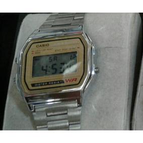 Reloj Casio Vintage Retro Plata Unisex Dama Caballero