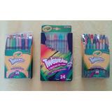 Lapices De Color Y Crayones Twistables Marca Crayola