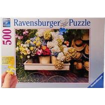 Ravensburger Rompecabezas Flores Y Sombreros 500 Pz 13654