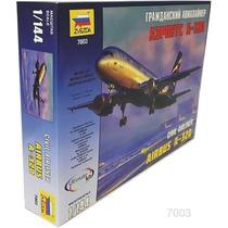 Avion Zvezda Airbus A320 1/144 Armar Pintar / No Revell